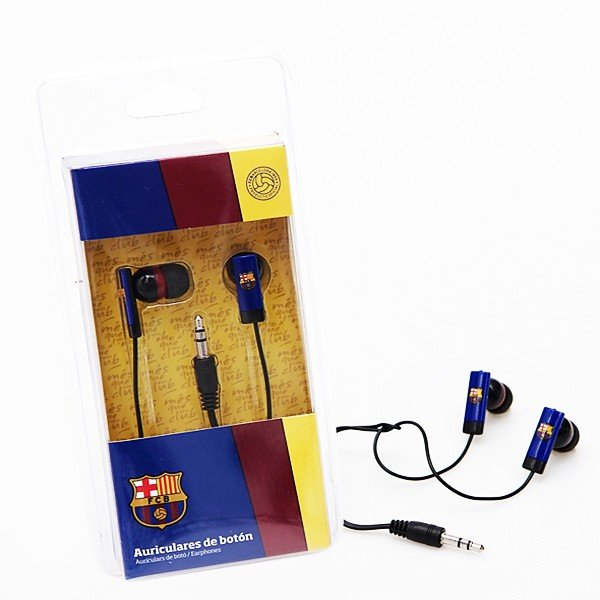 Barcelona Rectangle Framed In Ear Headphones