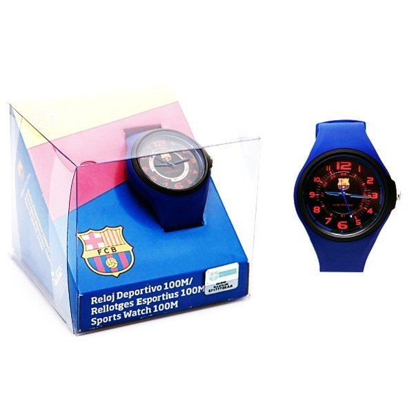 Barcelona Red And Blue Sports Watch