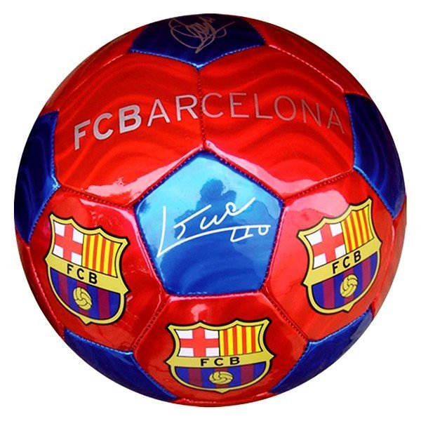 Barcelona Red/Blue Signature Football - Size 5