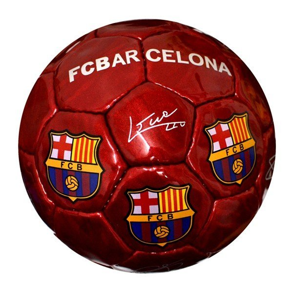 Barcelona Red Signature Football - Size 2