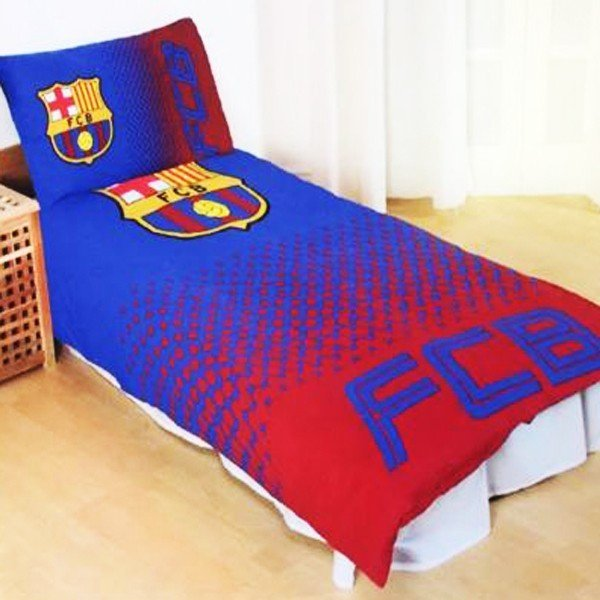 Barcelona Reversible Fade Single Duvet Set