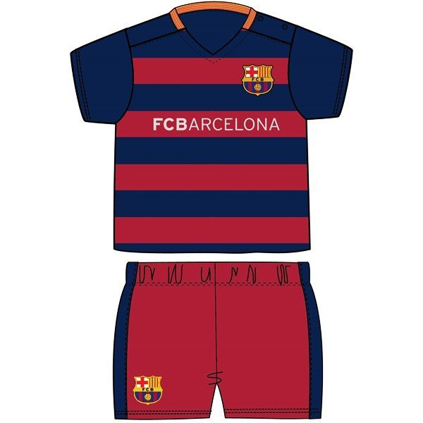 Barcelona Shirt & Shorts Set - 3/6 Months