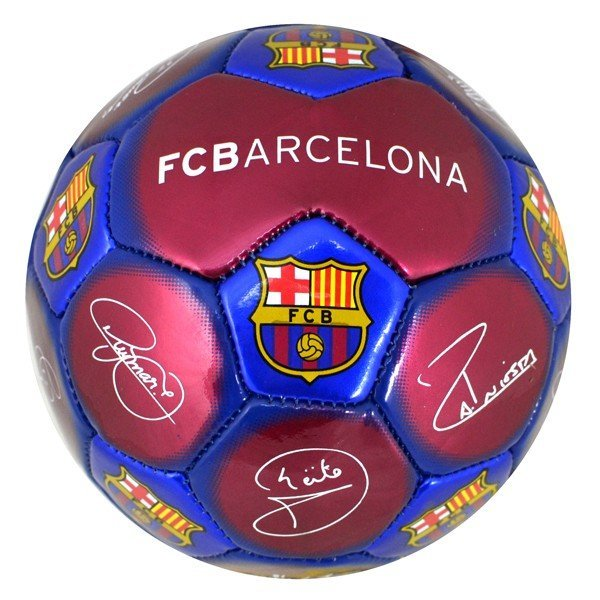Barcelona Signature Mini Football - Size 1