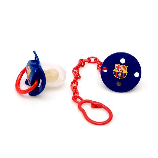 Barcelona Soother and Clip Chain Set