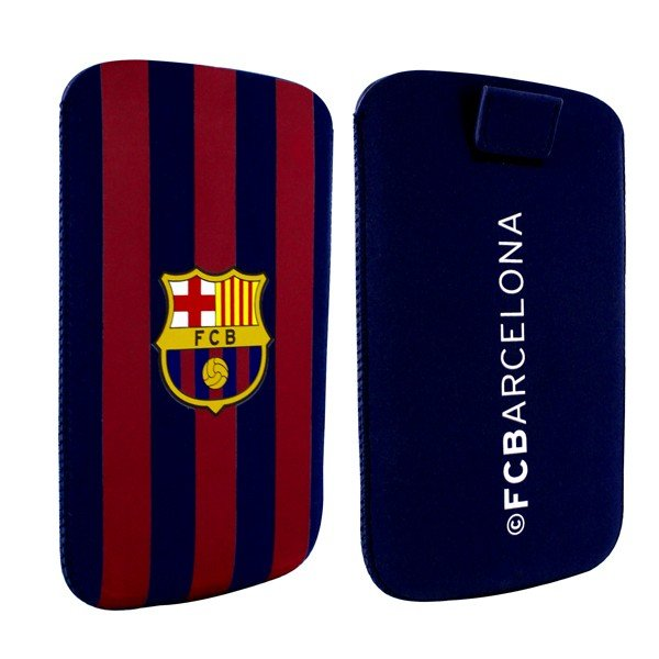 Barcelona Stripe Pocket Slim Case - L