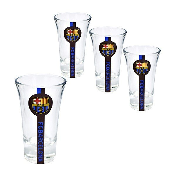 Barcelona Stripe Shot Glass - 4PK