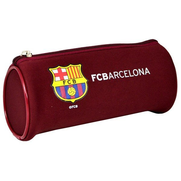 Barcelona Stripe Tube Pencil Case