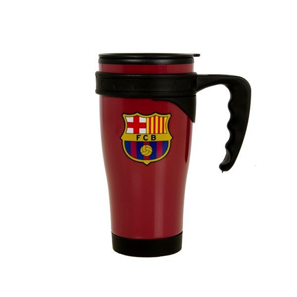 Barcelona Travel Mug - Burgundy