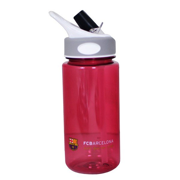 Barcelona Tritan Plastic Water Bottle - Burgundy
