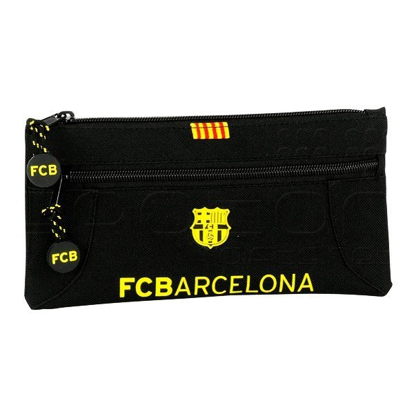 Barcelona Two Zipper Pencil Case