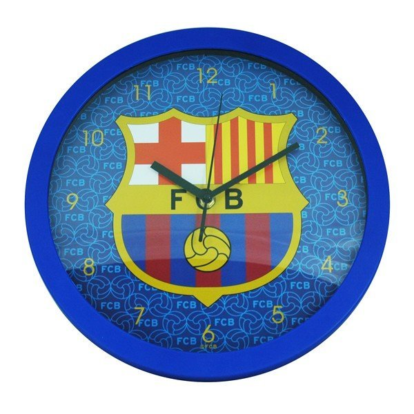 Barcelona Wall Clock - Blue