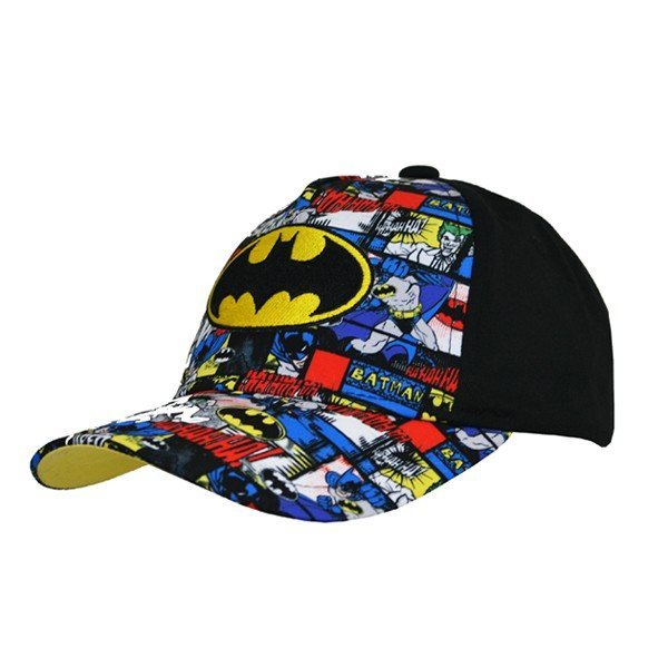 Batman Comic Cap Black - Junior