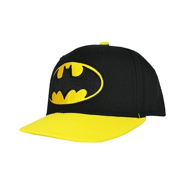 Batman Contrast Snap Back Cap Black - Adult