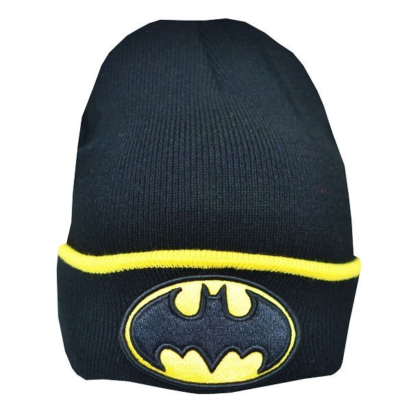 Batman Cuff Knitted Hat - Junior