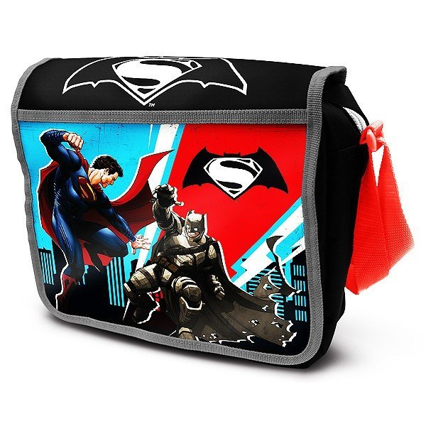Batman V Superman Courier Lunch Bag