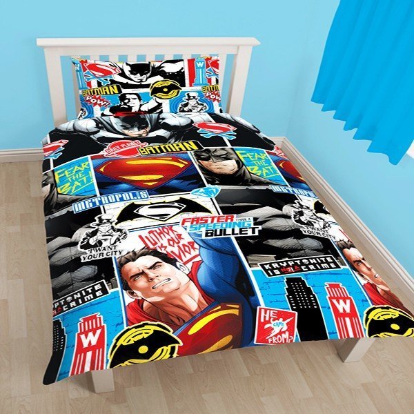 Batman V Superman Reversible Single Duvet