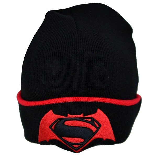 Batman V Superman Tipping Cuff Knitted Hat - Junior