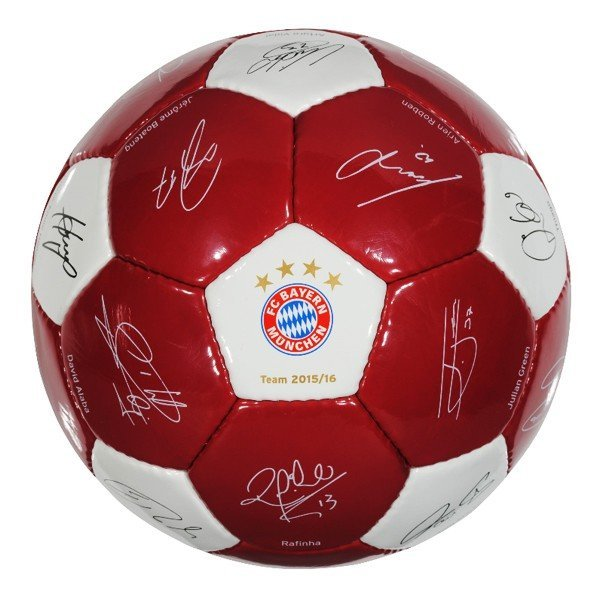 Bayern Munich Signature Football - Size 5