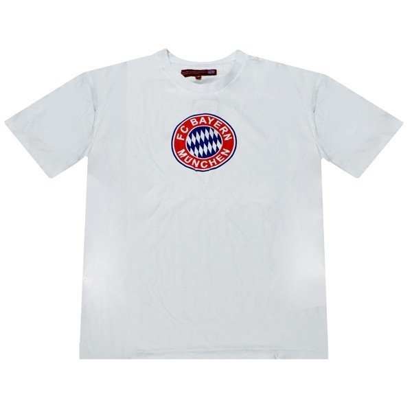 Bayern Munich White Mens T-Shirt - M
