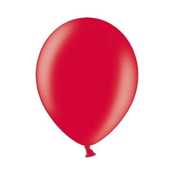 Belbal 12 Inch Balloon - Metallic Cherry Red