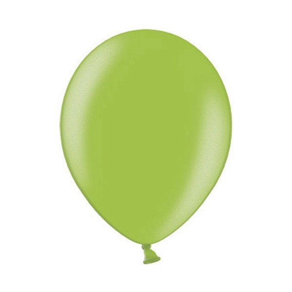 Belbal 12 Inch Balloon - Metallic Lime Green