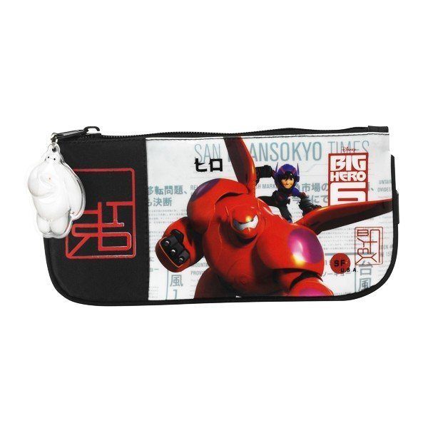 Big Hero 6 Flat Pencil Case