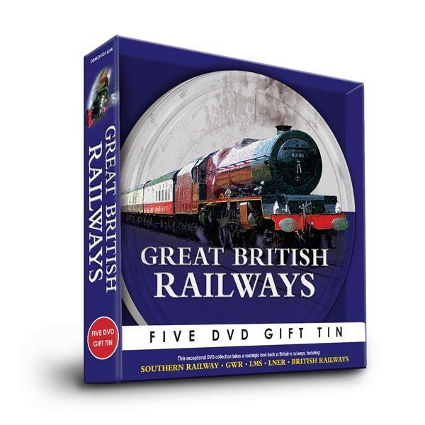 British Railways Five DVD Gift Tin