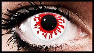 1 Day Use Bullet Coloured Contact Lenses (1 Day)