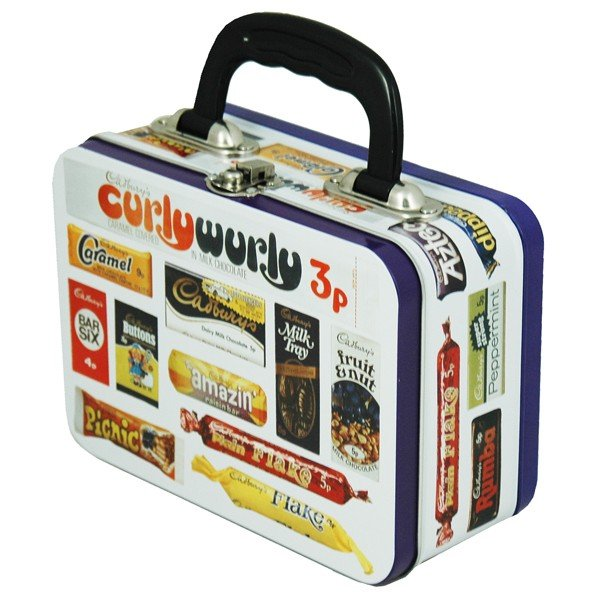 Cadbury Tin Tote Lunch Box