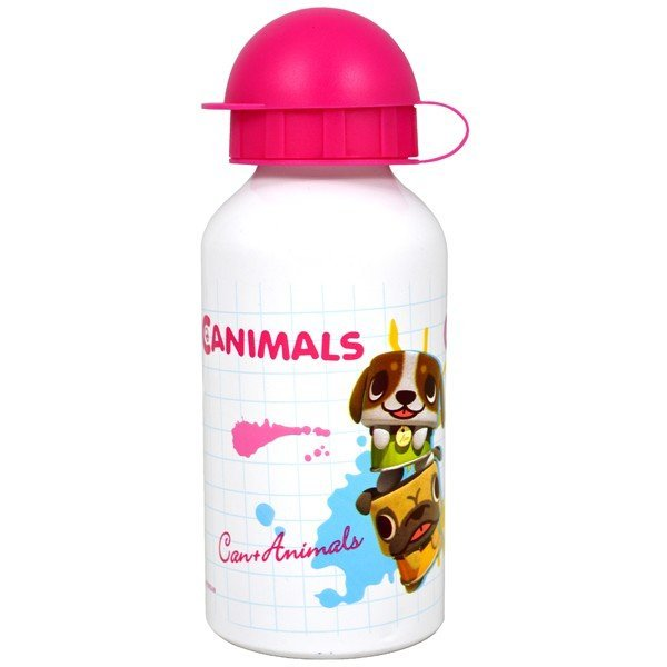 Canimals Aluminium Water Bottle