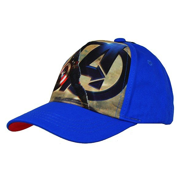 Captain America Action Cap Blue - Junior
