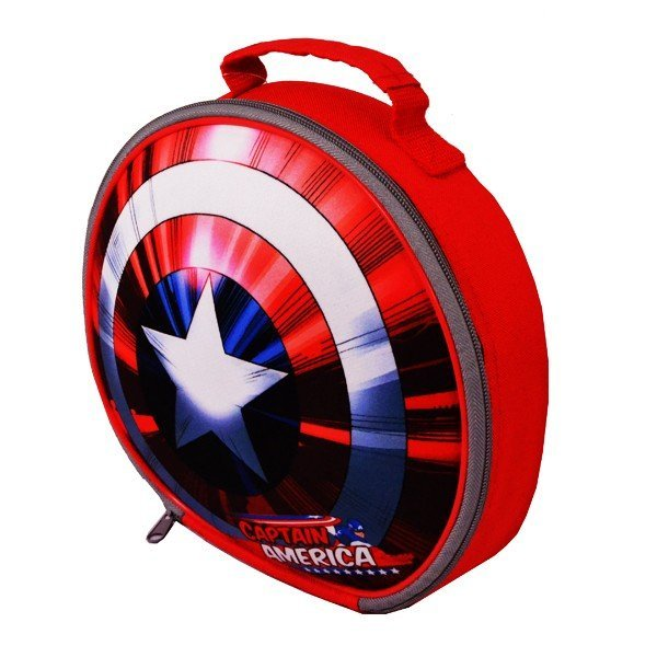 Captain America Shield 3D EVA Lunch Bag