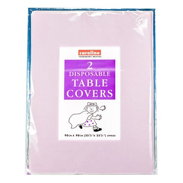 Caroline Square Paper Tablecovers - Lilac