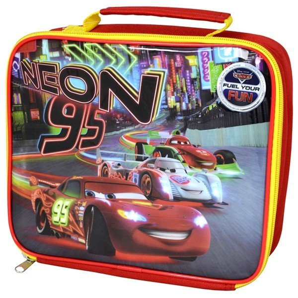 Cars Neon Lunch Bag