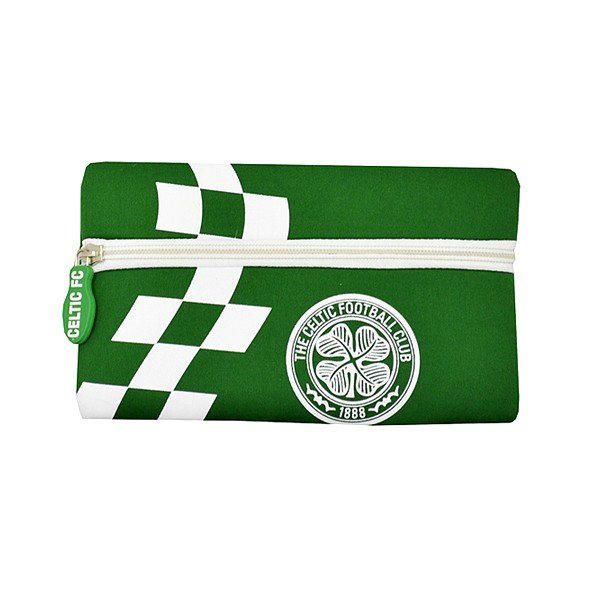 Celtic Checked Flat Pencil Case