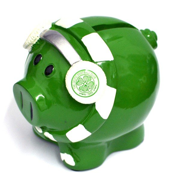 Celtic Cold Scarf Piggy Bank