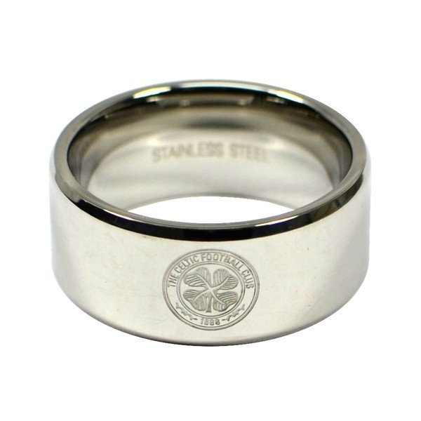 Celtic Crest Band Ring - Medium