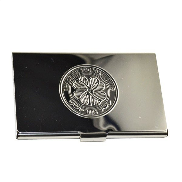 Celtic Crest Embossed Business Card Holder