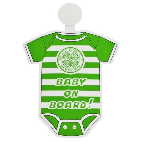 Celtic Kit Baby On Board Sign