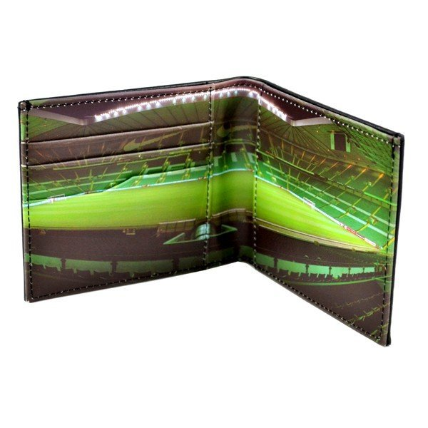 Celtic Stadium Leather Wallet