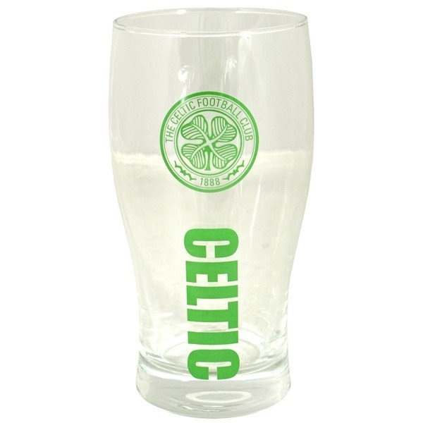 Celtic Wordmark Crest Pint Glass