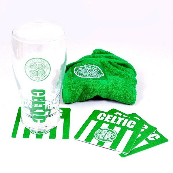 Celtic Wordmark Mini Bar Set
