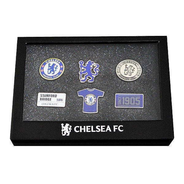 Chelsea 6 Piece Badge Set