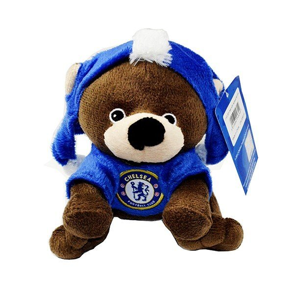 Chelsea Bear With Mohawk Hat