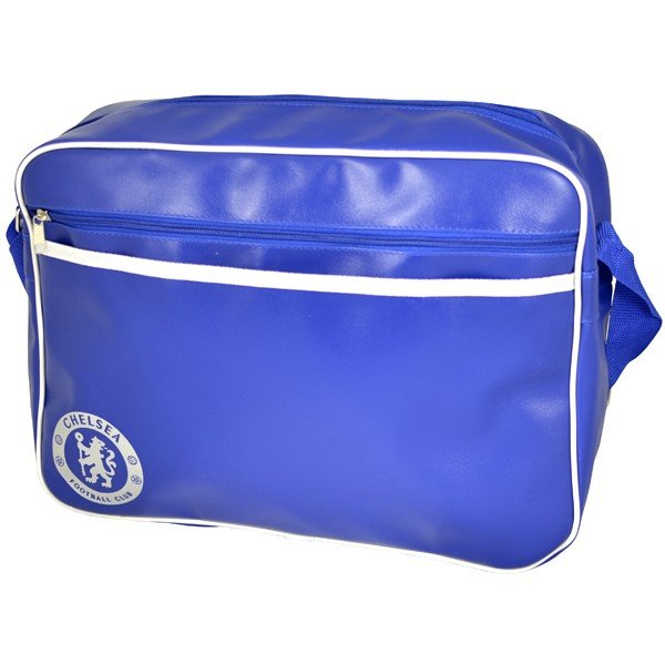 Chelsea Blue Messenger Bag