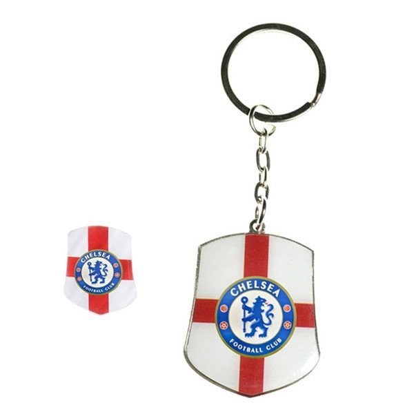 Chelsea Club Country Badge & Keyring