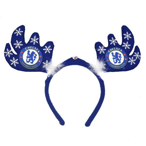 Chelsea Flashing Xmas Antlers Headband