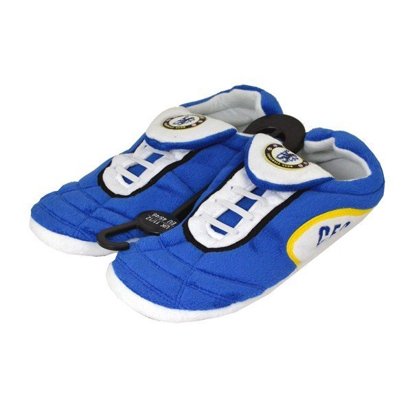 Chelsea Football Boot Slippers (9-10)