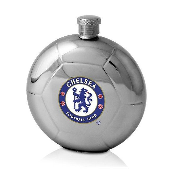 Chelsea Football Shaped Hipflask