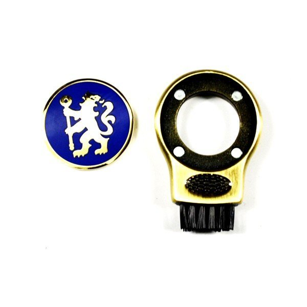 Chelsea Golf Gruve Brush & Ball Marker